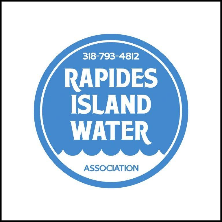 Rapides Island Water Logo